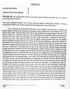 Pages from JESSICA CARROLL AFFIDAVIT April 2, 2008