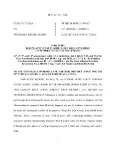 State and Defense Closing Briefs — Motion to Suppress | FLDS